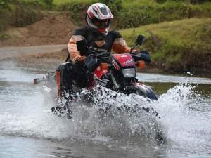 Motorrad Abenteuer